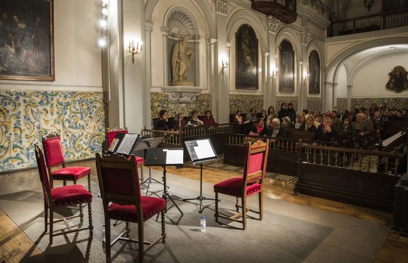 Concerts d'hivern: Sara Lluch Carda, violí; María Moragón Sánchez, viola; Ignacio Baeza García, violoncel ;Josep Manel Campos i Campos, piano