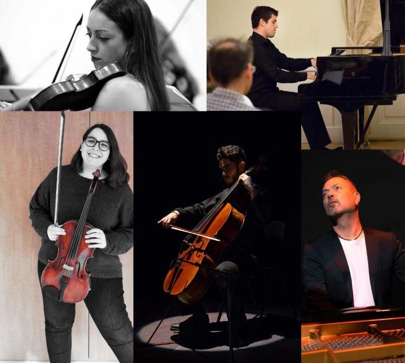 Concerts d'hivern: Sara Lluch Carda, violí;Juan Flor Zubiri, piano; María Moragón Sánchez, viola; Ignacio Baeza García, violoncel ;Josep Manel Campos i Campos, piano
